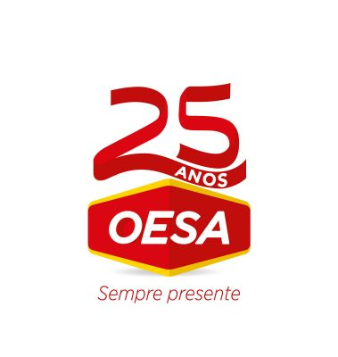 Logo + Slogan + Selo 25 anos